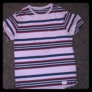 Comfortable Katin striped tee